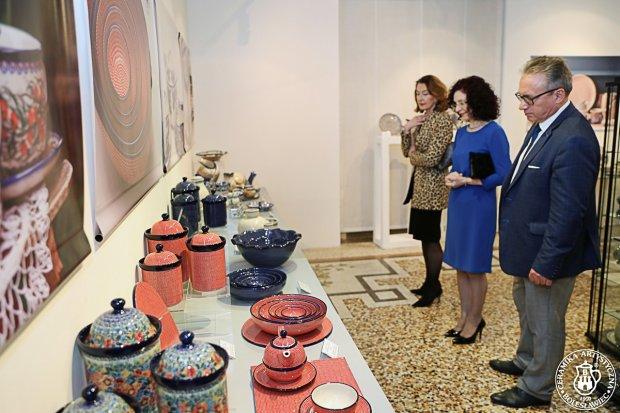 Wernisaż wystawy w Rzymie – Dall'argilla di Bolesławiec