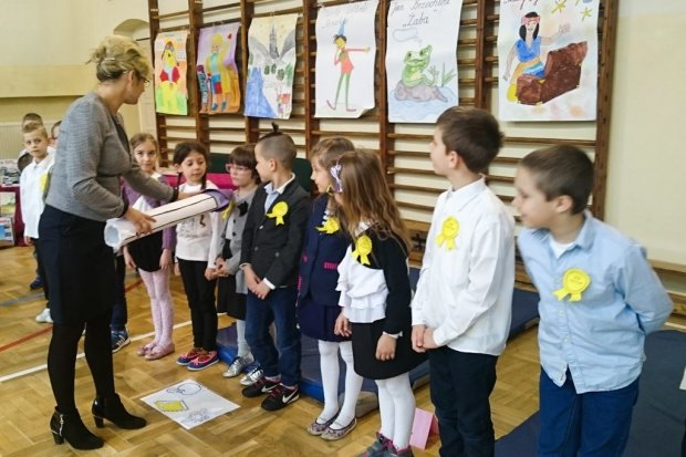 Dziękujemy za wspieranie czytelnictwa nauczycielom ze Szkoły Podstawowej nr 2