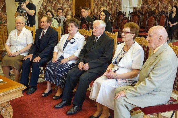Trzy pary świętowały jubileusze małżeńskie