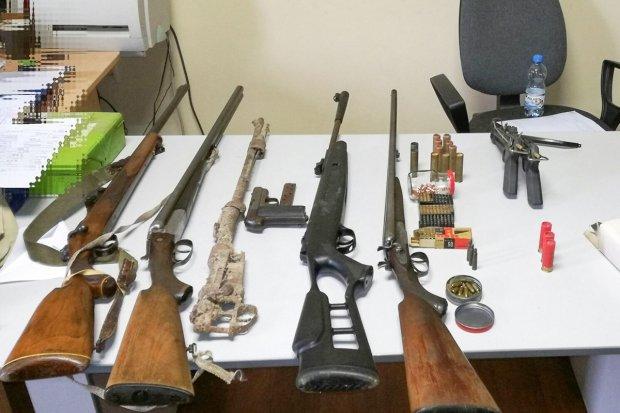 Kryminalni ujawnili arsenał nielegalnej broni