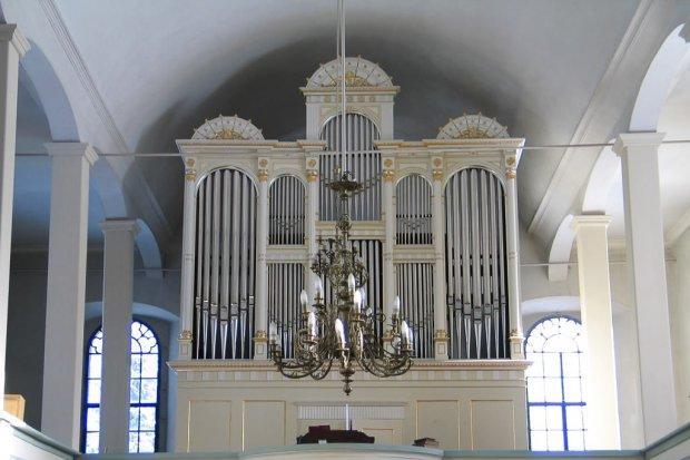 Koncert organowy w Parowej