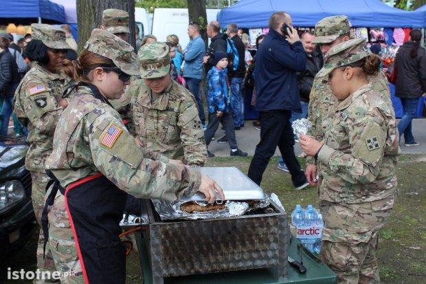 Zobacz, jak bolesławianie i amerykańscy żołnierze bawili się na majówce