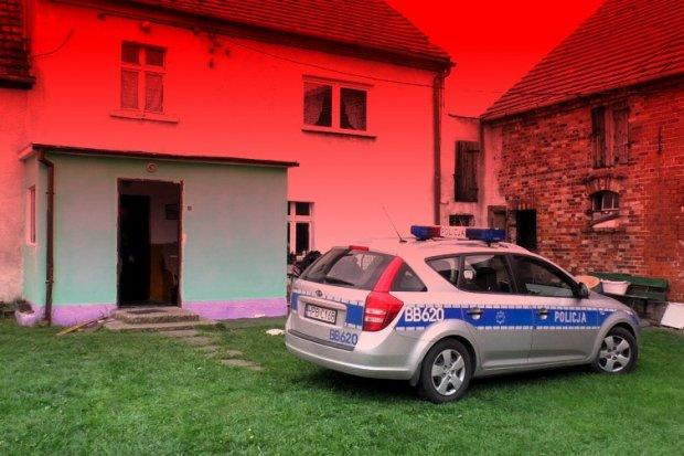 Podwójne zabójstwo w Łaziskach. Podejrzany z zarzutami
