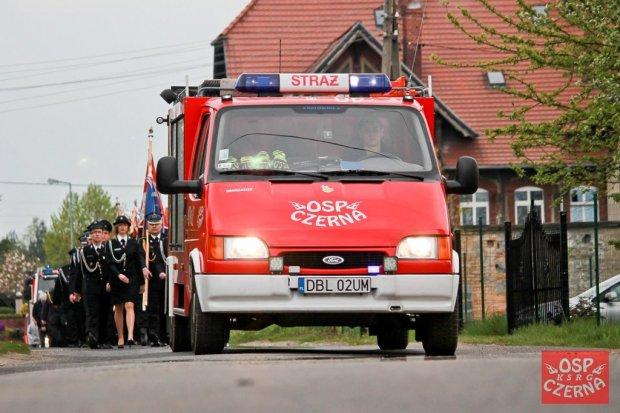 Strażacy ochotnicy z Czernej świętowali swoje 70-lecie
