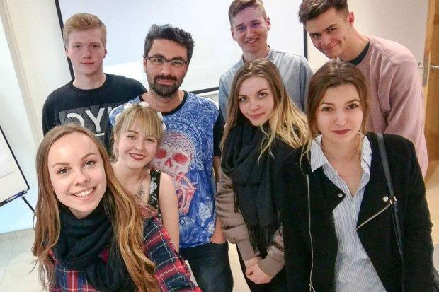 """Uczniowie """"Elektronika"""" projektowali gry komputerowe w Hiszpanii"""