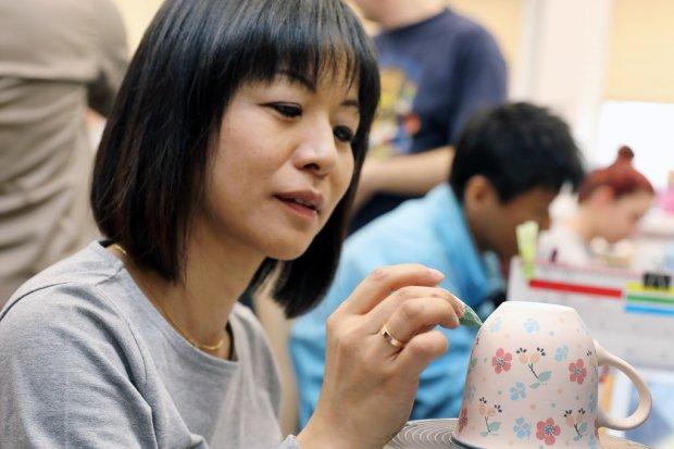 Japończycy zachwyceni wyrobami Ceramiki Artystycznej