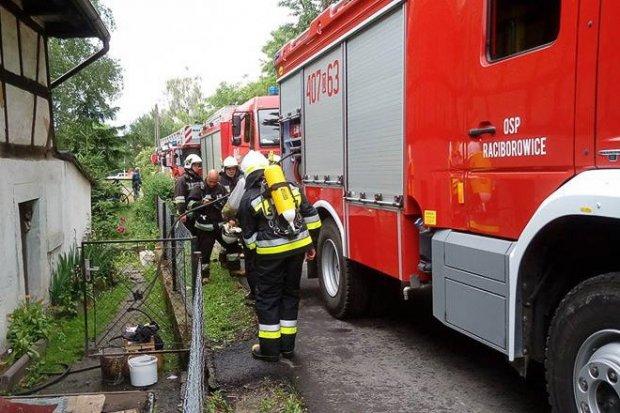 Pożar w Raciborowicach