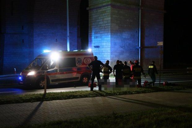 Młody mężczyzna zginął po skoku z wiaduktu