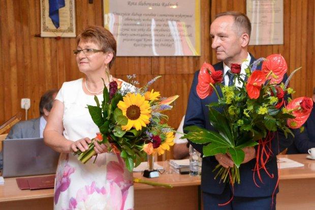 Powiat pożegnał dwoje dyrektorów szkół