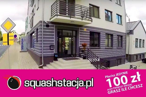 Squash w Bolesławcu? Squashstacja!