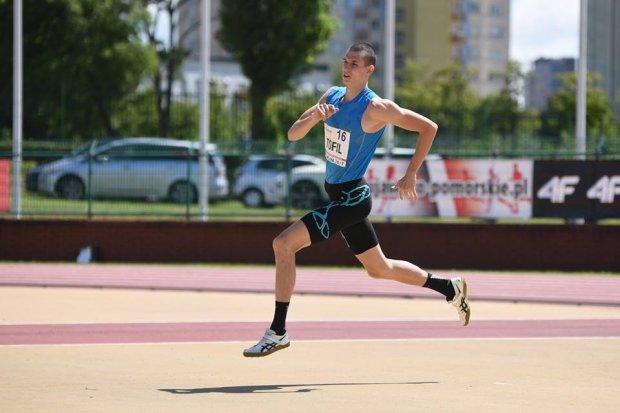 Mateusz Tofil Mistrzem Polski Juniorów w skoku wzwyż