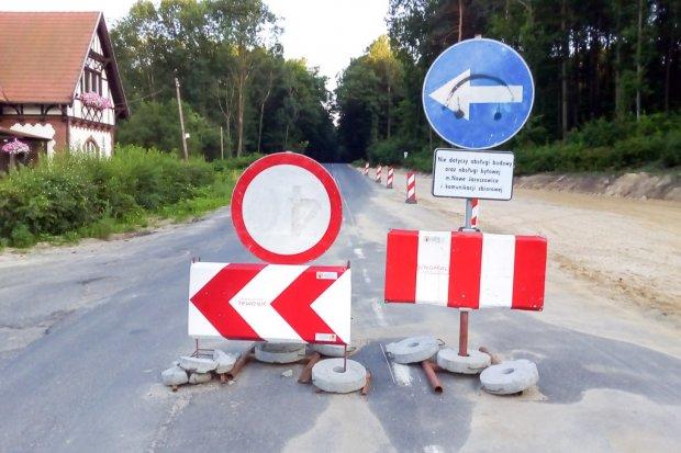 Remont drogi Bolesławiec–Lwówek: będą ułatwienia