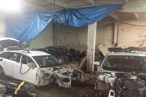 Policja zlikwidowała dziuplę samochodową. 30-letni paser aresztowany