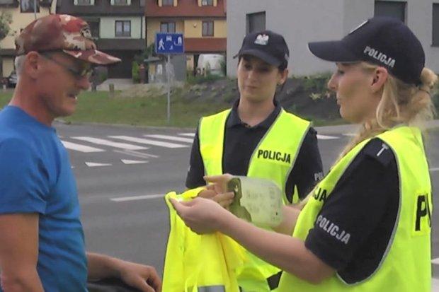 Lampki i kamizelki dla niechronionych uczestników ruchu drogowego