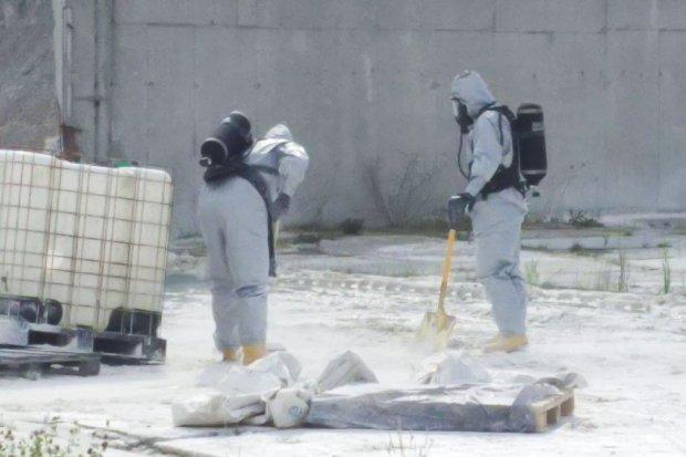 Wyciek kwasu siarkowego w zakładzie Surmin-Kaolin