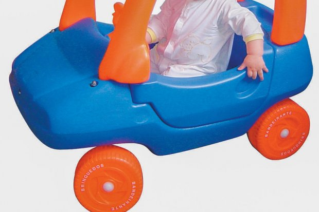 Ukradł… samochodzik dla dzieci. Wpadł, gdy kupił kradzione auto
