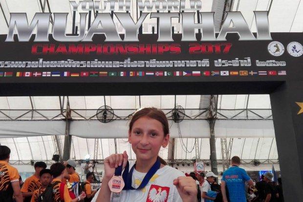 Gladiatorka Martyna Czuchraj w reprezentacji Polski na Puchar Europy Muaythai