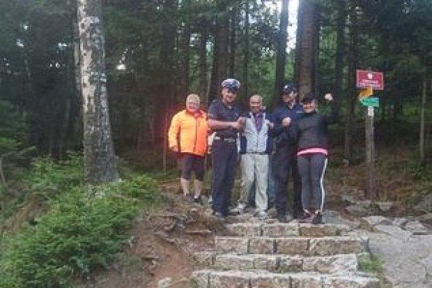 Mundurowi odnaleźli zaginionego turystę z Izraela