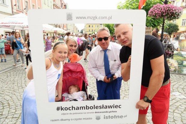 Darmowe zdjęcia na pamiątkę: akcja #kochambolesławiec