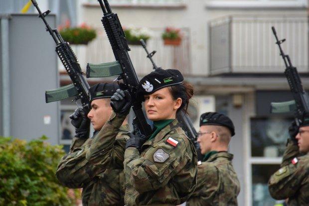 Pokaz musztry paradnej i sprzętu wojskowego Czarnej Dywizji