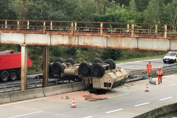Kolejny wypadek z udziałem żołnierzy US Army. Tym razem na A18