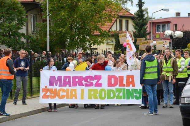 Radykalni katolicy maszerowali ulicami Bolesławca