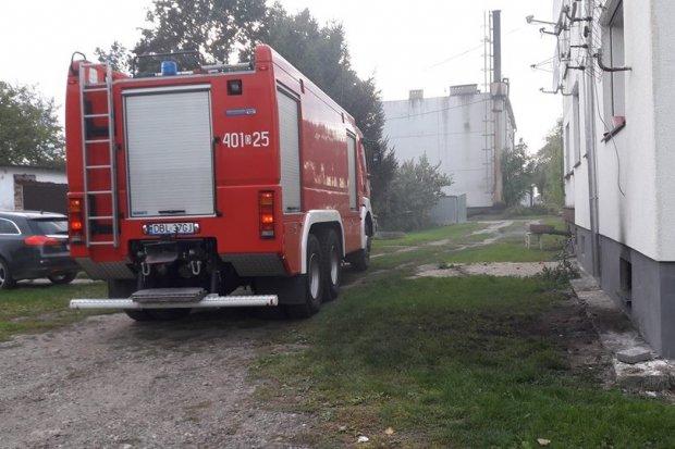Pożar piwnicy w Warcie Bolesławieckiej