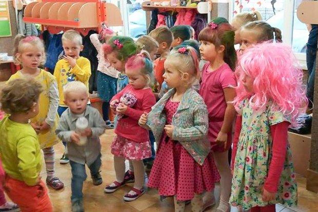 Przedszkolaki z Kruszyna świętowały