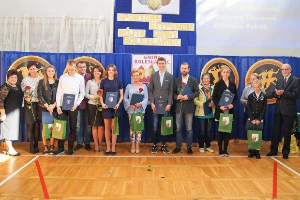 Mistrzowie sportu z gminy Bolesławiec nagrodzeni