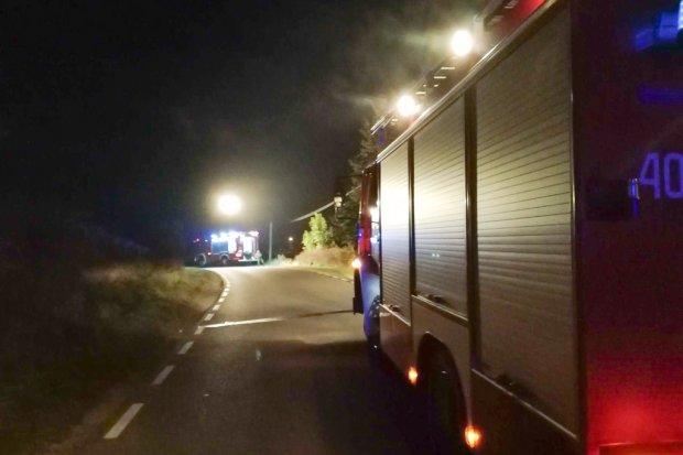 Akcja straży w Raciborowicach – ulatniał się gaz