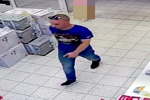 Pomóż policji złapać złodzieja sklepowego