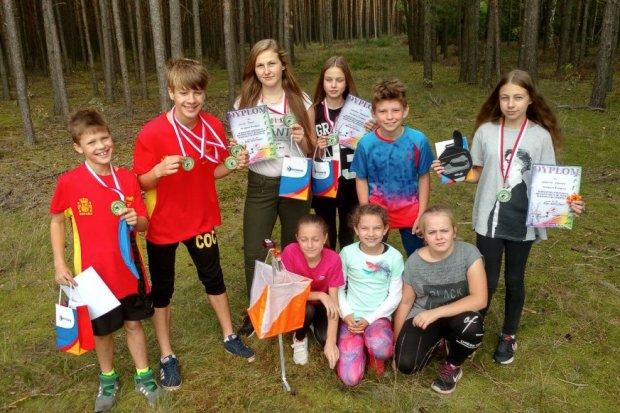 Biegacze z Iwin najlepsi w Międzywojewódzkich Mistrzostwach Młodzików
