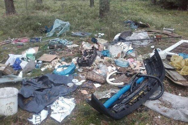 Brudasy syfią na poboczach i w lasach. Jest apel władz Nowogrodźca