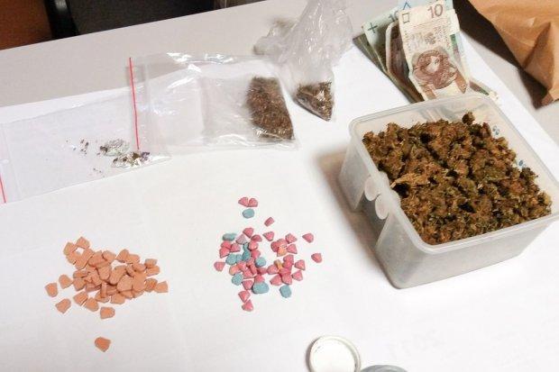 33-latek wpadł z dużą ilością narkotyków