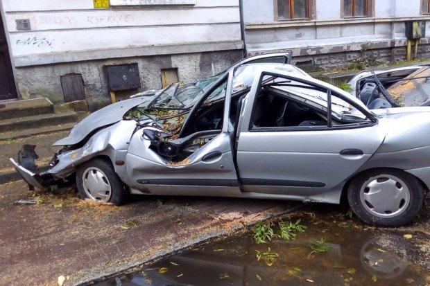 Zobacz, jakiego spustoszenia dokonała w Bolesławcu nawałnica