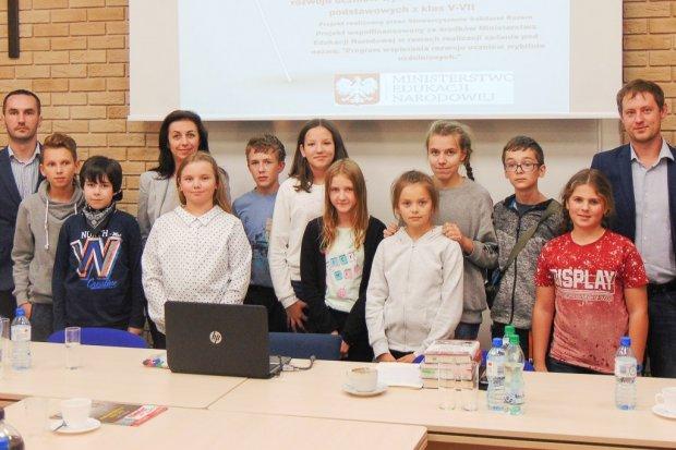 Uczniowie z Kruszyna na obozie naukowym w Szczecinie