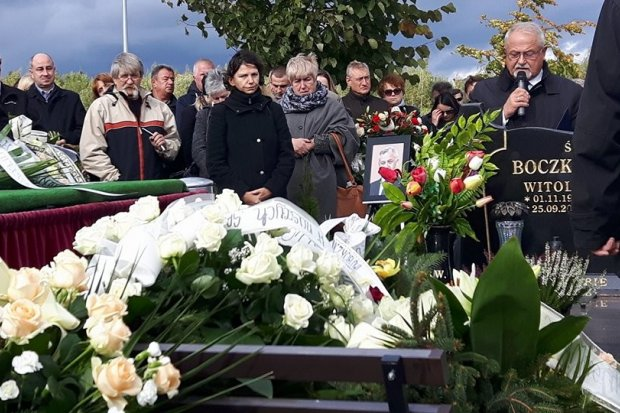 """Pogrzeb oraz """"In memoriam Dariusza Kwaśniewskiego"""""""