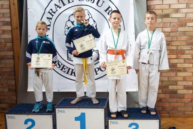 Bolesławieccy karatecy z 9 medalami Lubin Cup