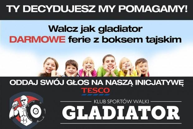 """KSW Gladiator: akcja w Tesco """"Ty decydujesz, my pomagamy"""""""