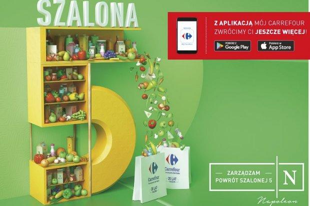 Carrefour: nowe promocje z Szaloną 5!