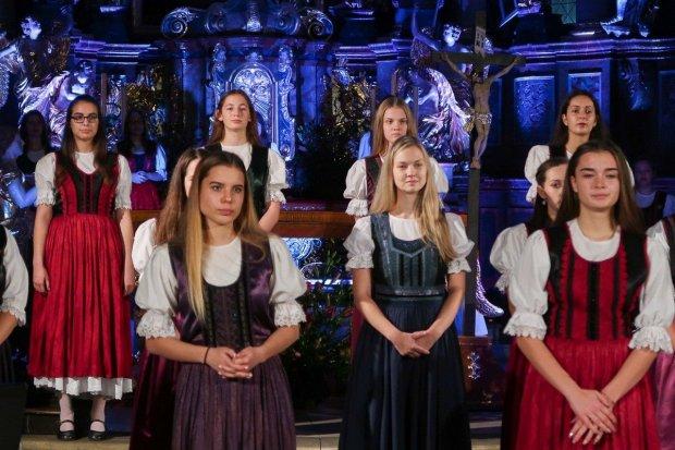Koncert 40 aniołów w Bazylice w Bolesławcu
