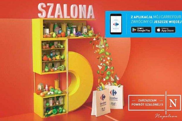 Carrefour: ostatni tydzień szalonej 5!