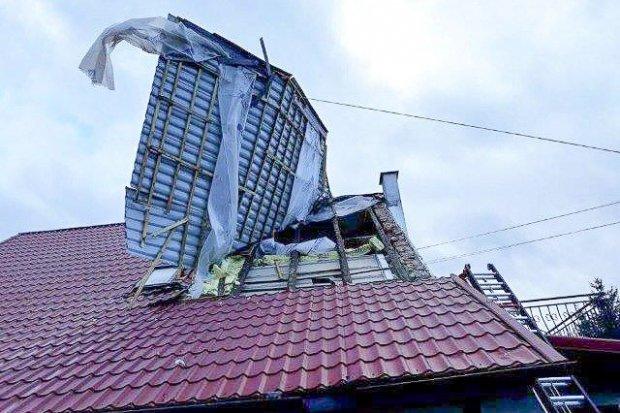 Cyklon Grzegorz: ponad 40 interwencji straży pożarnej w całym powiecie