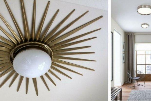Plafon Art deco, Bella – lampy sufitowe