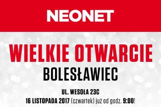 Wielkie otwarcie NEONET w Bolesławcu