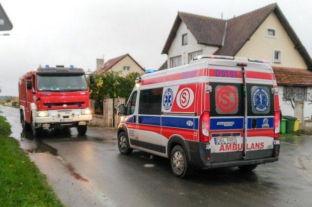 Wybuch pieca w Przejęsławiu, jedna osoba ranna