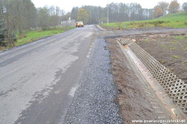 Droga w Gozdaninie oficjalnie oddana do użytku