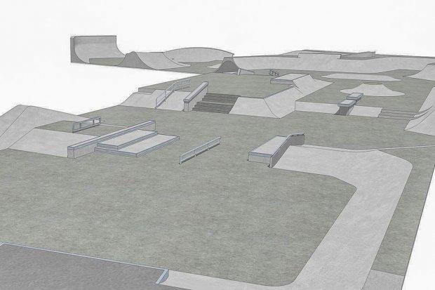 Zagospodarują teren przy wiadukcie. Pumptrack i skatepark w przyszłym roku