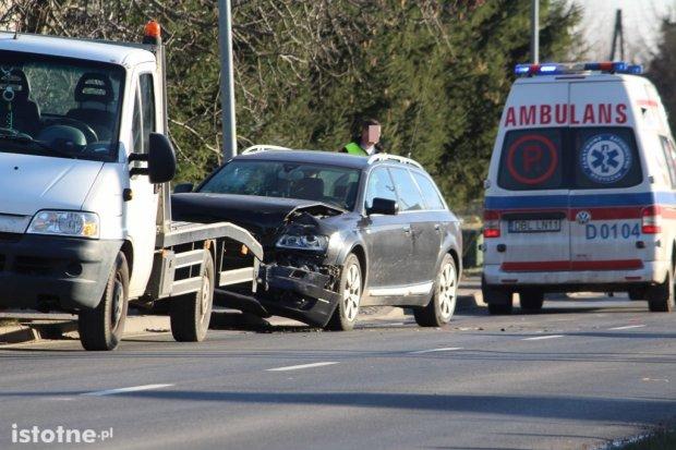 Wypadek w Warcie. 25-latek ranny