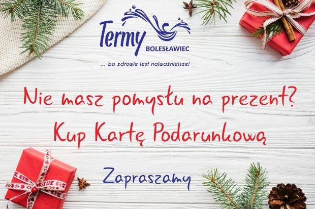 Nie masz pomysłu na prezent? Termy Bolesławiec zapraszają!